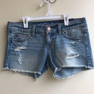 NWT American Eagle Distressed Cutoff Jean Shorts